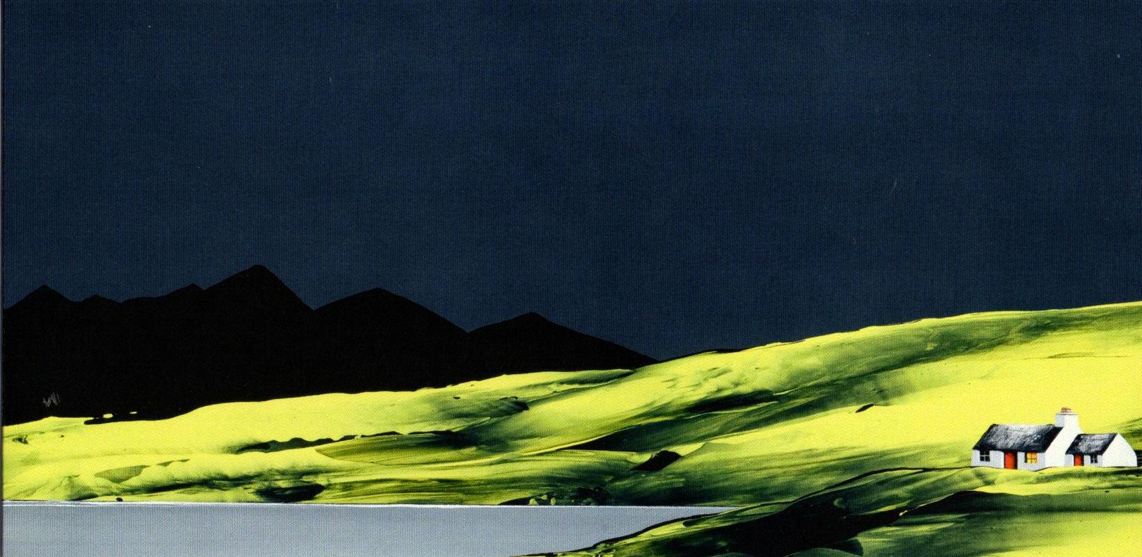 Loch Fada and Cuillins
